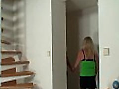 Blonde sex new beby in stockings rides stranger&039s cock