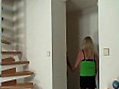 Blonde dildo sluts xxx in stockings rides stranger&039s cock