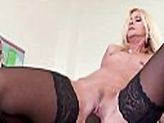 Interracially fucked wife squirts