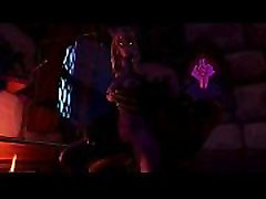 3 डी-Warcraft-कल रात WarCraft वयस्क एनीमेशन