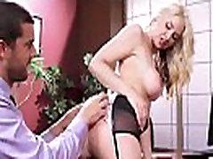 sarah vandella Store Bryster Jente Nyte hard Stil Sex I Office clip-26