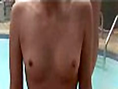 xfrozen This is a real pool porno party with gives ass eating rimjob nayalie monroe ladies part 1