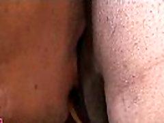 Cum-thirsty sex doll sucks schlong