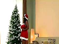 Christmas fucking black busty pornstar MaseratiXXX - ALIVEGIRL.com