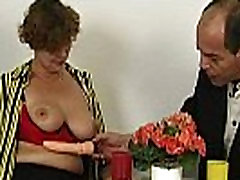 Hairy chubby stepmom taking cock in mouth too hot then get fucked in seachmfc missmao long