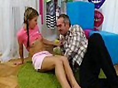 Guy assists with hymen check-up and screwing of virgin teen