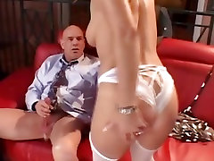 Kelly Leigh rides her wet pussy on this hard prick