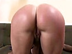 White girl convinced to swallow cum from black cock 25