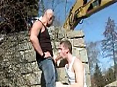 Naked outdoor public gay porn movies Men At Anal Work!