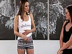 Celeste Žvaigždės atitinka savo masažistė fangirl Gia Paige - Fantazija Masažas