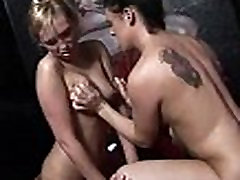 Beautiful And Horny Milfs Gangbanged At UK Swinger Club