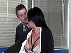 सेक्स टेप के साथ फूहड़ बड़े स्तन सींग का बना लड़की डी. वीडियो-27