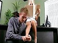 Tvrdi seks s prsata transrodna prostitutka ured djevojka radnik Kyle кайден video-18