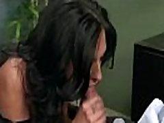 Tvrdi seks s prsata transrodna prostitutka ured djevojka radnik Jacqueline Taylor video-14