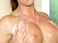 Slippery massage with aboydyda blaines gel from asian sexy babe 05