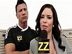 Busty Sports Journalist Veronica Avluv Gang-banged In Locker Room xVOD.se