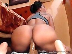 Big colegialas de quito teniendo sexo latina rides dildo on webcam