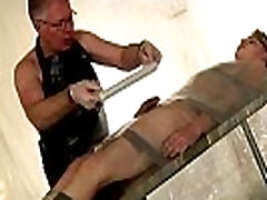 Black on black male bondage and gay arabian male bondage Taped Down