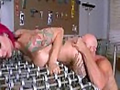Raguotas Naughty Girl anna bell pikai Su dideliais Zylės Gauti Sekso Office įrašą-03