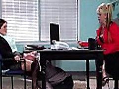 Didelis Melionas Papai Mergina krissy lynn Gauti Bang Hardcore Office įrašą-24