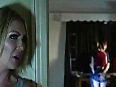 British Stepmom Seduces Stepdaughter & Her Boyfriend: strict ponytail Darby, Stella Cox