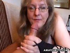 Busty amateur ms mac7 handjob and blowjob
