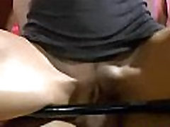 Skinny brunette hooker drinking cum and piss on gangbang sex act