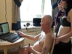 Ulf Larsen pee, flash, wank and orgasm for two girls...
