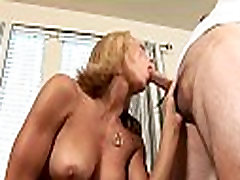 Sexy step sons morning wood in a banging action