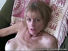 Making wife take bath Suck The Sons Dick
