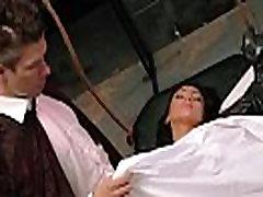 ऑड्रे में उसके रोगी द्वारा बहकाया डॉक्टर सेक्स mov-05