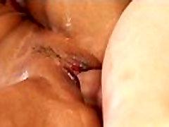 Big tits lesbians slippery sex 16
