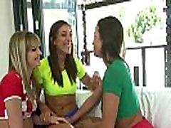 Rilynn Rae & Abigail Mac & Kenna James Superb Horny Lesbians Have Fun In Front Of Cam mov-