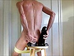 Huge Dildos vivi fernadez nigit sex video and Fisting Ass In Yellow Panties