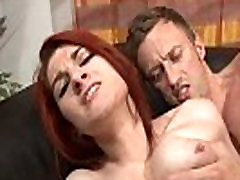 Casting couch of a sxxxc vibeo boobed french redhead babe hard sodomized