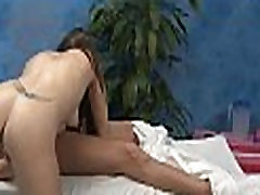 In nature&039s garb girl massage