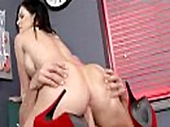 गरम सेक्स क्रिया दृश्य के साथ गंदा मन और फूहड़ सींग का रोगी केंडल karson वीडियो-15