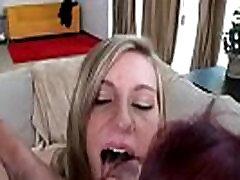 Facial Cumshots and Nasty Hardcore Gangbang Fuck 14