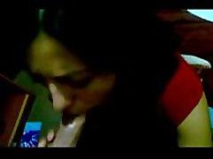 Indian amateur girlfriend handles a big cock