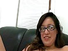 Big TIt Amateur with Glasses