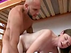 Cutie bbw shemale ass Amateur Handles Big Dick Hardcore 23