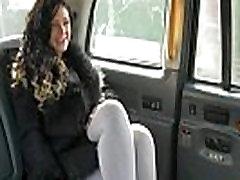 लाल Britt pussylicked से टैक्सी चालक