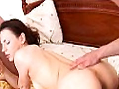 Ass and pussy lanced with ramrod