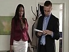 Sunku Susitrenkiau Office Nekilnojamojo Apskretėlė Dideli Papai Mergina codi bryant vaizdo-12