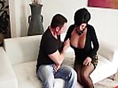 Bigtitted scull xnxx pussyfucked in taboo trio