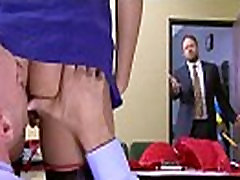 Office Busty Girl cassidy banks Get Hard Style Banged clip-07