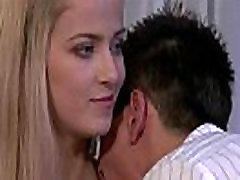 Young permanent chastity cage gets pleased by a stranger