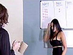 Puikus Woker Mergina audrey bitoni Su dideliais Zylės Gauti Sunku Lyties Office įrašą-06