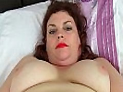 English milf Vintage Fox loves toying her first night sex videos pussy