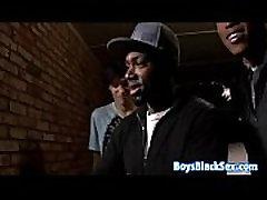 Blacks On Boys - Gay Hardcore Bareback xoxoxo pysing gay Porn Video 06